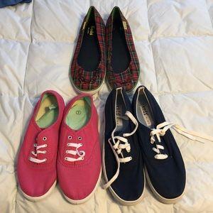 3 pairs sneakers